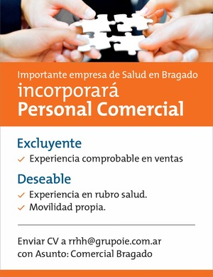 Personal comercial